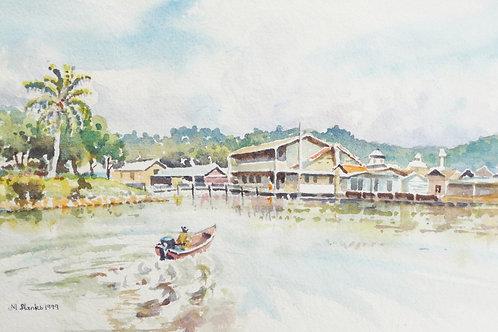 Lagoon at Begawan, 2000
