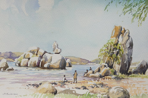 Lake Victoria at Mwanza, 2000