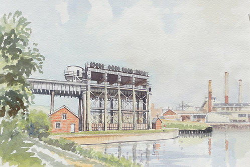 The Anderton Boat Lift, 1986