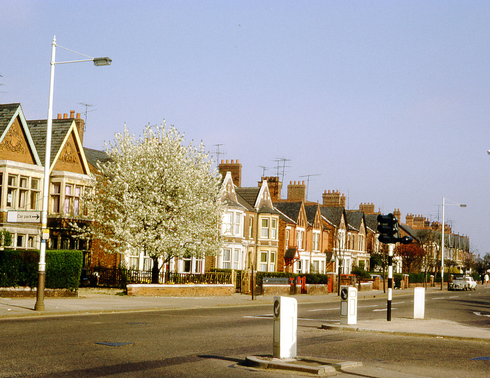3rd May 1970 Junction of Burghley Road a
