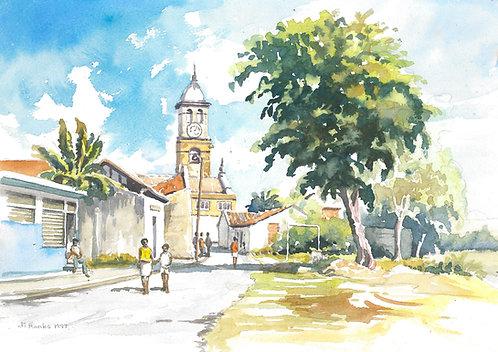 Church of San Salvador, Bayamo, 1997