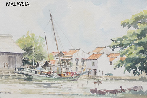 Malacca on west coast, 1985