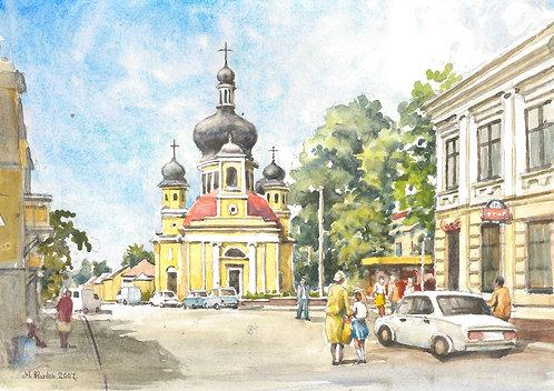 St. Nicholas Church at Chernivtsi, 2007