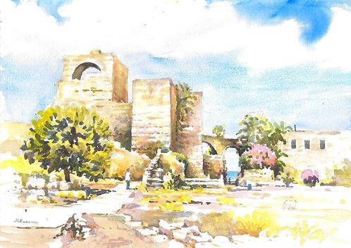 Byblos Castle ruins, 2018