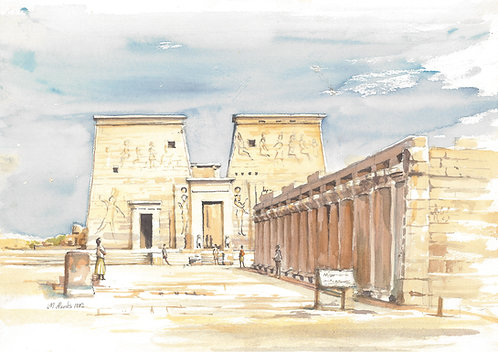 Temple of Isis at Philae,