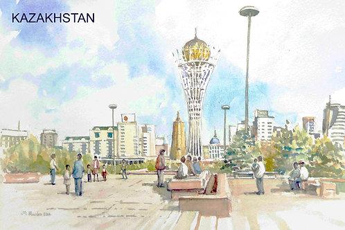 Impressive Astana, the capital, 2014