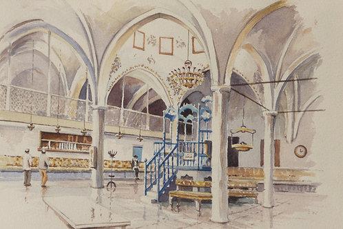 The Abuhav Synagogue, Safed, 1987