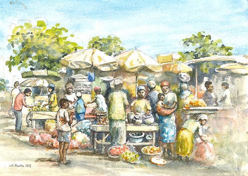 Bouaké Market, 2019