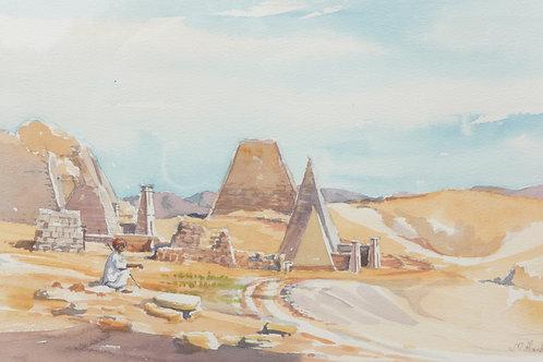 The Meroe Pyramids, 1982