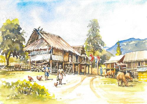 Lao Bao, near the border with Laos, 1999