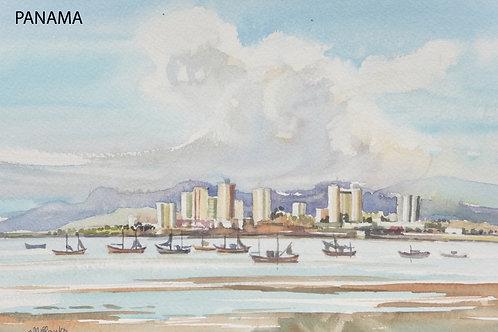 Panama from San Filipe, 1976