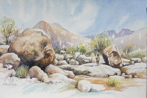 Brandberg Mountain Range, Erongo, 2005