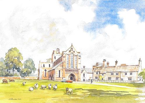Lanercost Priory, Cumbria, 1999