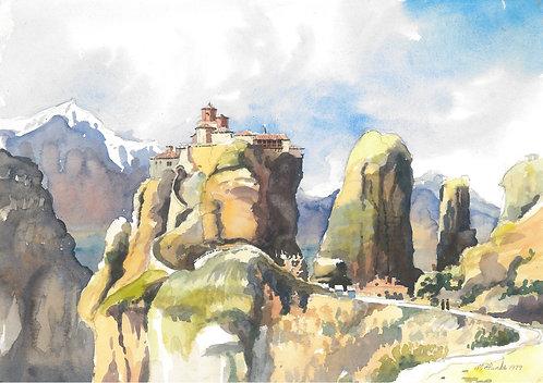 The Meteora Monasteries, 1979