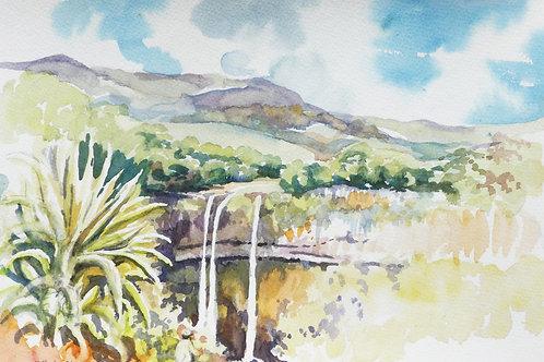Chamarel Waterfall, 2006