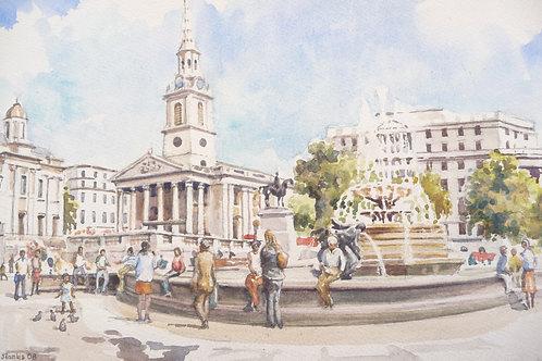 Trafalgar Square, 2008