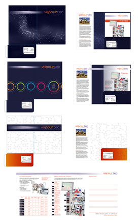 Vapourtec - branding and brochure design