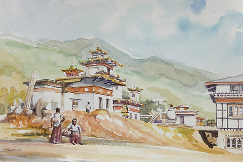 Zanglno Pelu Monastery at Tempo, 2009