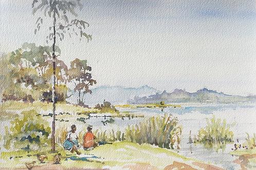 Lake Mutanda near Kisoro, 2016