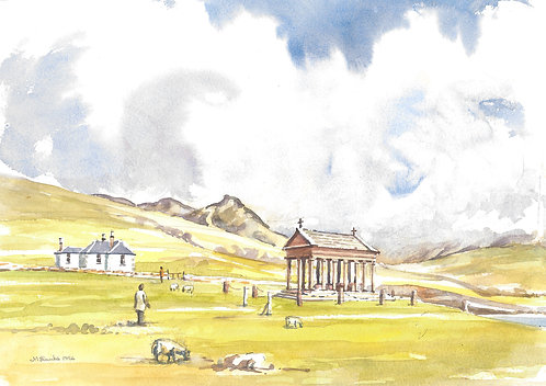 Bullough Mausoleum at Harris, Mull, 1996