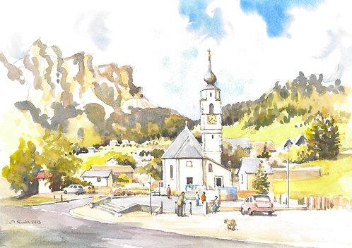 Colfosco in South Tyrol (A), 2013