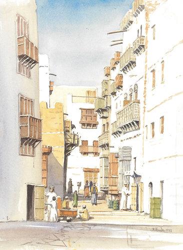 Old Jeddah, 1983