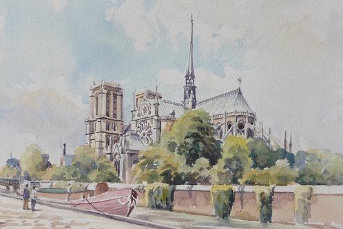Notre Dame, Paris, 1989