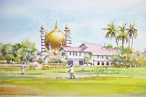 Ubudiah Mosque at Kuala Kangsar, Sarawak, 2017