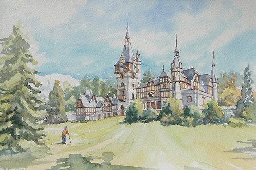 Old Palace at Sinaia, 1996