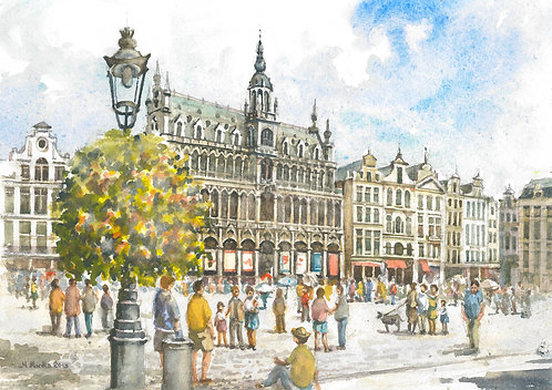 The Grand Place in Brussels, 2018