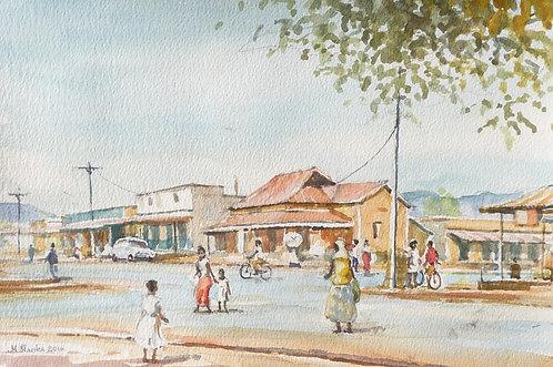 Masindi street scene, 2016