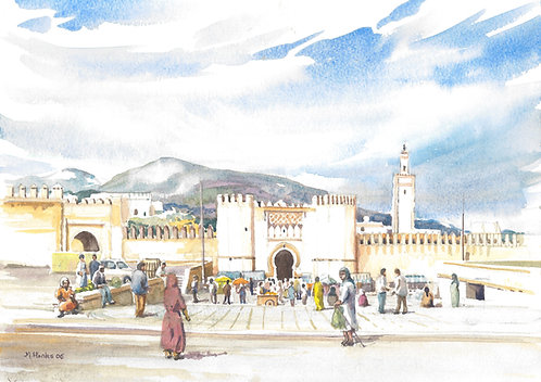 Old Medina Gate at Fes, 2006