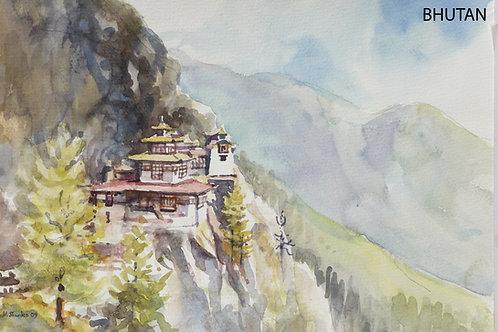 Paro Taktshang or Tiger's Nest Monastery, 2009