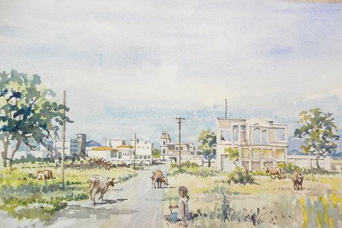 Managua ruins, 1976