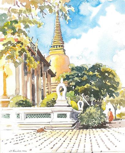 Wat Sommanat Temple, Bangkok, 1994