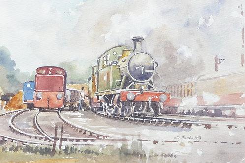 Bridgnorth Railway Station, Shropshire, 1976