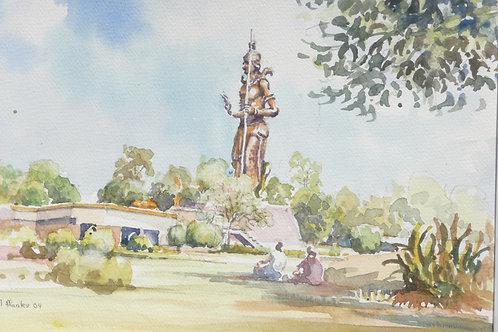 Hindu Temple to Goddess Sheba, Mahipalpur, 2009