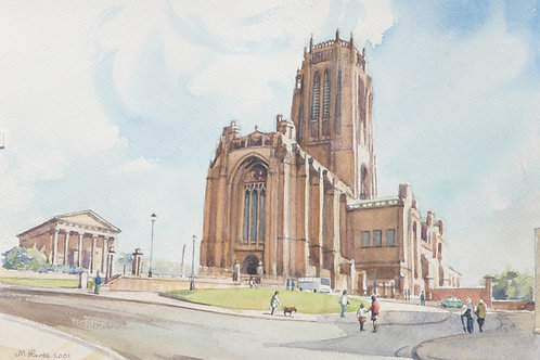 Liverpool Cathedral, 2001