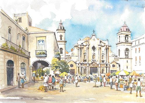 Catedral de La Habana, Havana, 1997