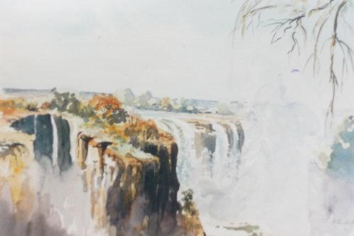 Victoria Falls, 1981