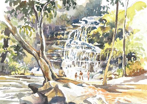 Kintampo Falls, 2004
