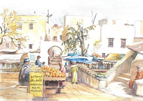 The old medina of Sefrou, 2006
