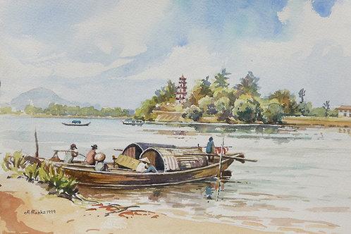 Thien Mu Temple, near Hue, 1999