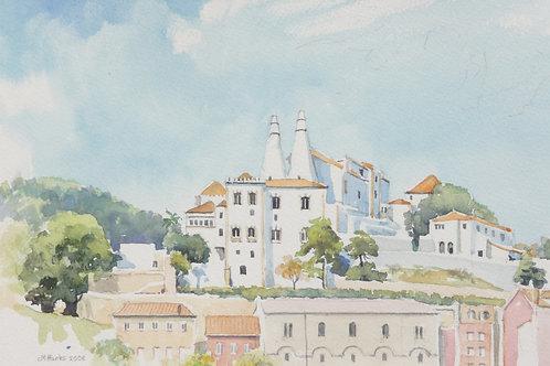 The Palace of Sintra, near Lisbon