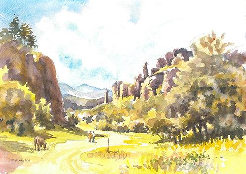 The Belogradchik Rocks, 2011