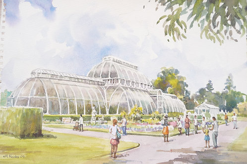 Palm House at Royal Botanic Gardens, Kew, 2009