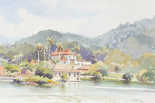 Temple of the Tooth at Kandy, 1979