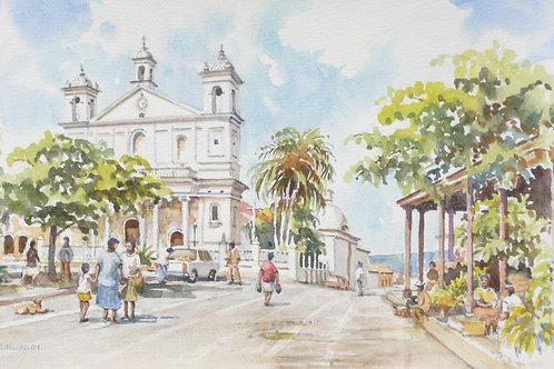 Santa Lucia Church of Suchitoto, 2009
