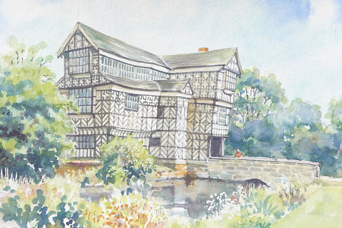 Little Moreton Hall, Cheshire,  2010