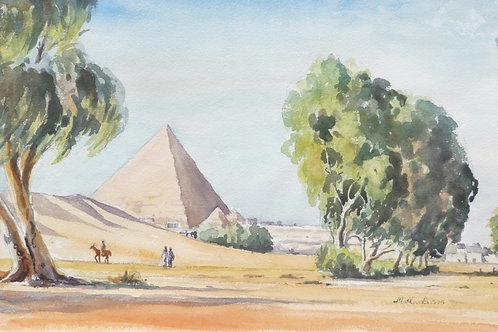 The Pyramids of Giza, 1975